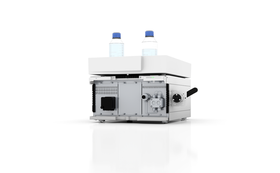 Docking Station for Three HPLC Modules: Valves, Pumps & Detectors Freely Combinable within Housing